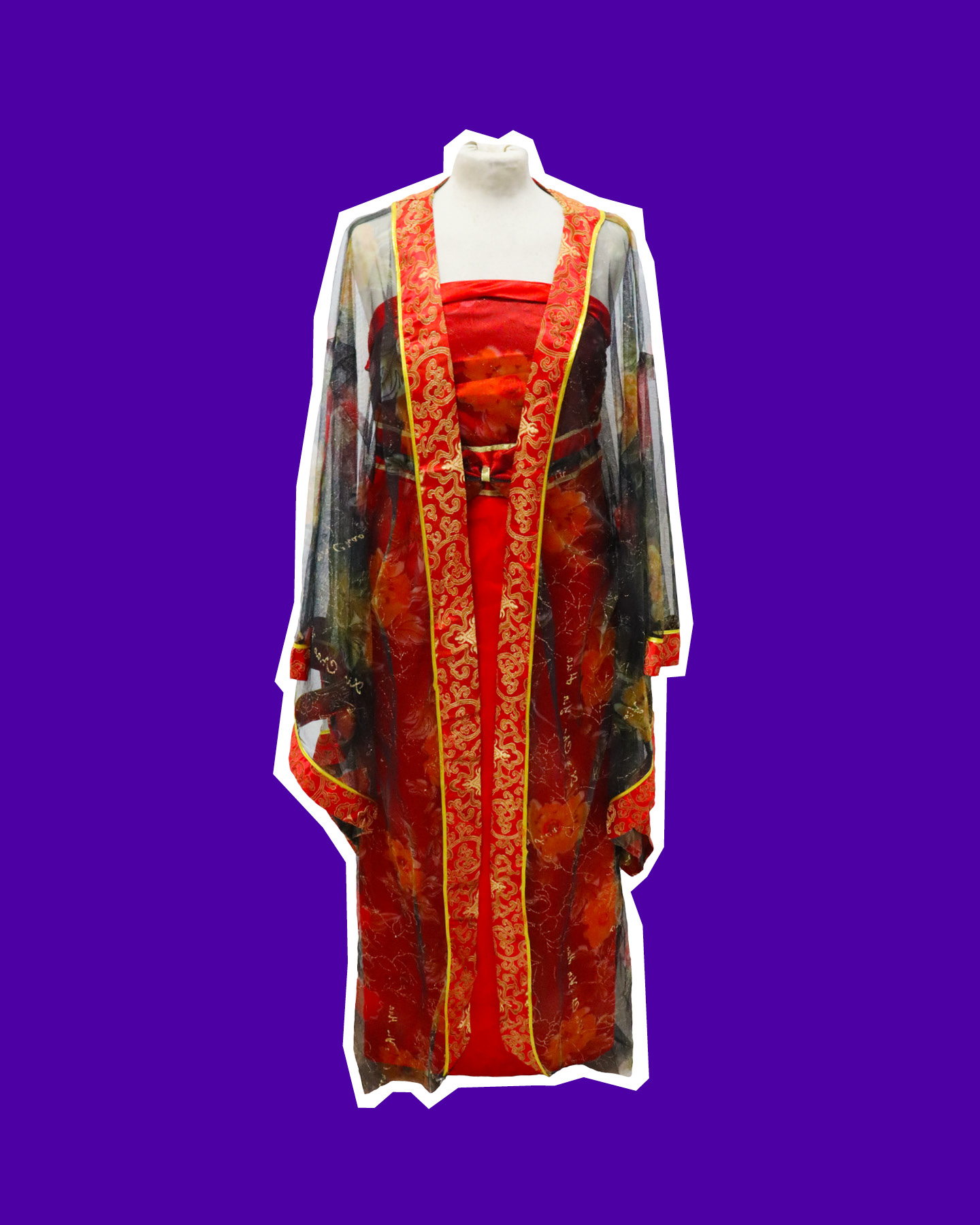 Chinese Two Piece Dress